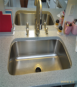 24 hr Emergency local plumbers in Sydney sink installed